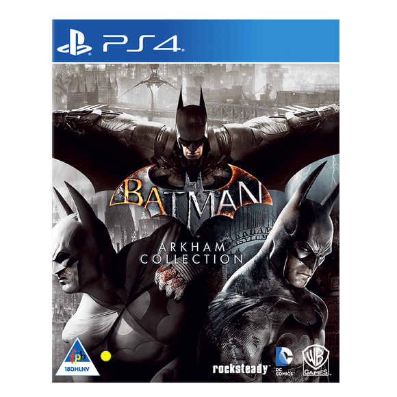 Batman Arkham Collection (PS4) - KOODOO