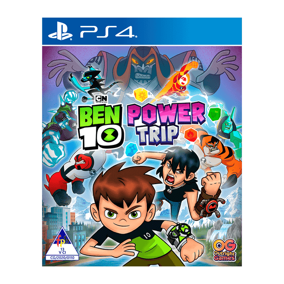 Ben 10 Power Trip (PS4) - KOODOO