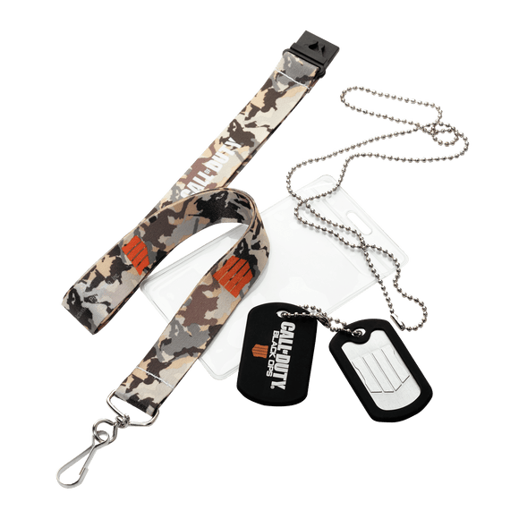 COD BO4: Lanyard & Dog Tags - KOODOO