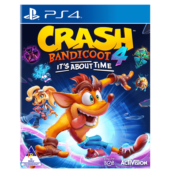 Crash Bandicoot 4 It's about Time (PS4) - KOODOO