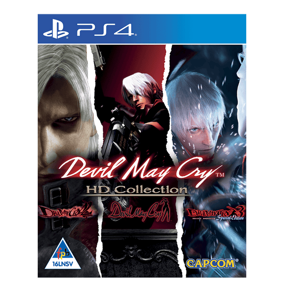 Devil May Cry HD Collection (PS4) - KOODOO
