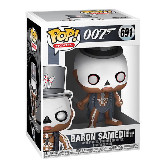 Funko Pop! Movies: 007-Baron Samedi From Live And Let Die - KOODOO