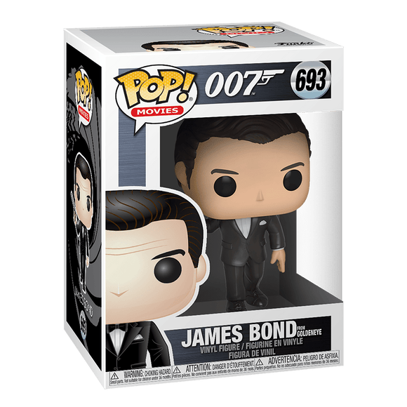 Funko Pop! Movies:007-James Bond From GoldenEye - KOODOO
