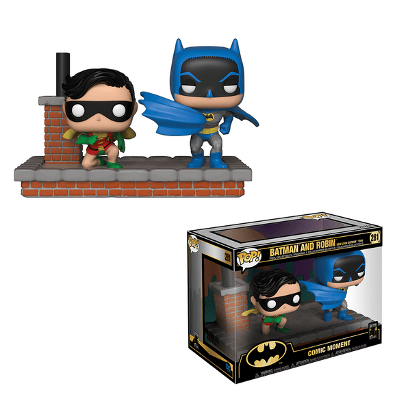 Funko Pop! Moment:Batman 80th Anniversary-Batman And Robin (1964) - KOODOO