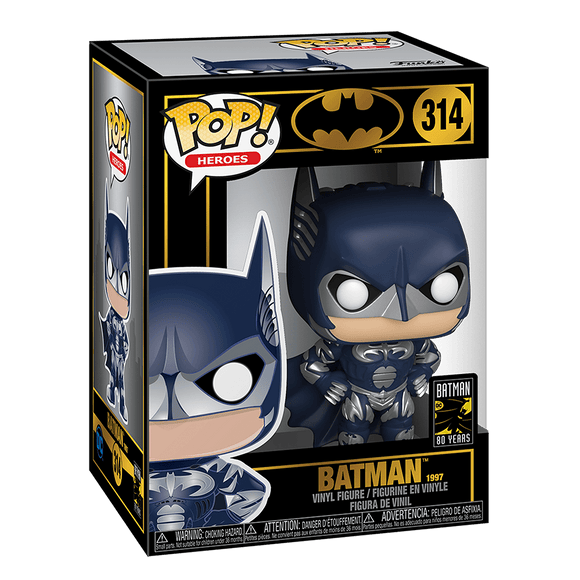 Funko Pop! Heroes: Batman 80th Anniversary-Batman (1997) - KOODOO