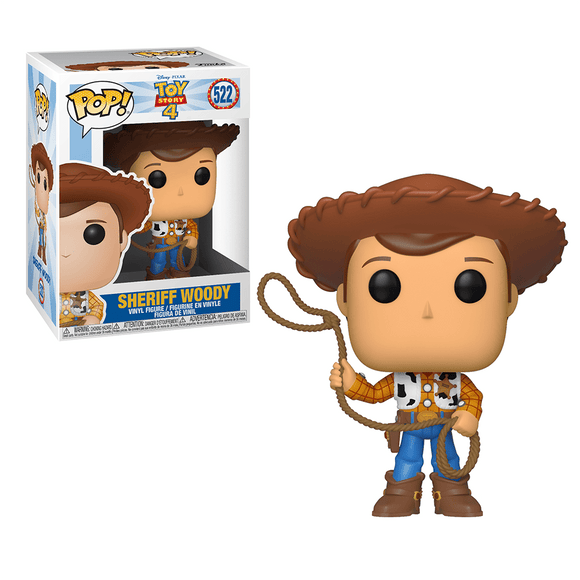 Funko Pop! Disney Pixar Toy Story 4 - Sheriff Woody - KOODOO