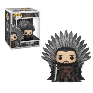 Funko Pop! Deluxe:Game Of Thrones S10-Jon Snow Sitting On Throne - KOODOO