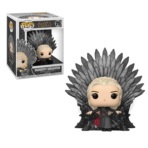 Funko Pop! Deluxe:Game Of Thrones S10-Daenerys Sitting On Throne - KOODOO