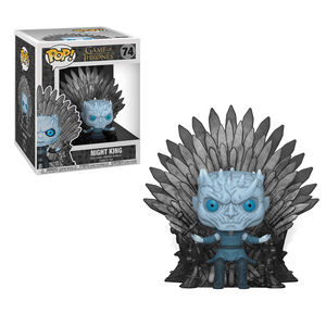 Funko Pop! Deluxe:Game Of Thrones S10-Night King Sitting On Throne - KOODOO