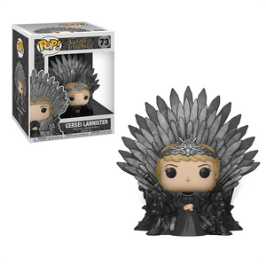 Funko Pop! Deluxe:Game Of Thrones S10-Cersei Sitting On Throne - KOODOO