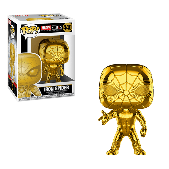 Funko Pop! Marvel Studios 10th Anniversary - Iron Spider (Chrome) - KOODOO