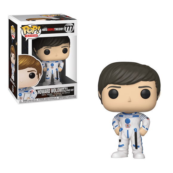 Funko Pop! Television: The Big Bang Theory - Howard Wolowitz In Space Suit - KOODOO