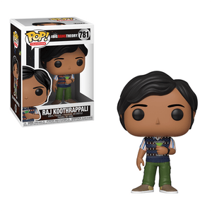 Funko Pop! Television: The Big Bang Theory - Raj Koothrappali - KOODOO