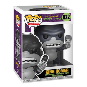 Funko Pop! Television: The Simpsons Treehouse Of Horror-King Homer - KOODOO