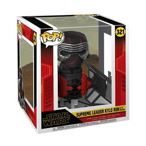 Funko Pop! Deluxe Star Wars Rise Of Skywalker - Kylo Ren In Whisper 10 Inch - KOODOO