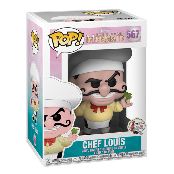 Funko Pop! Disney: The Little Mermaid-Chef Louis - KOODOO