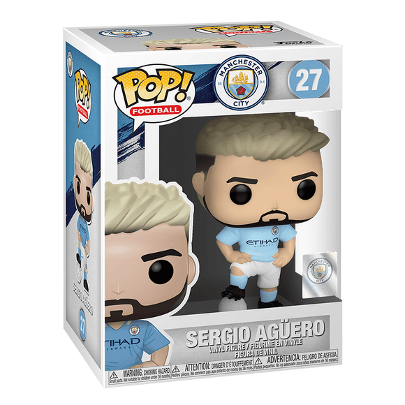 Funko Pop! Football Manchester City - Sergio Aguero - KOODOO