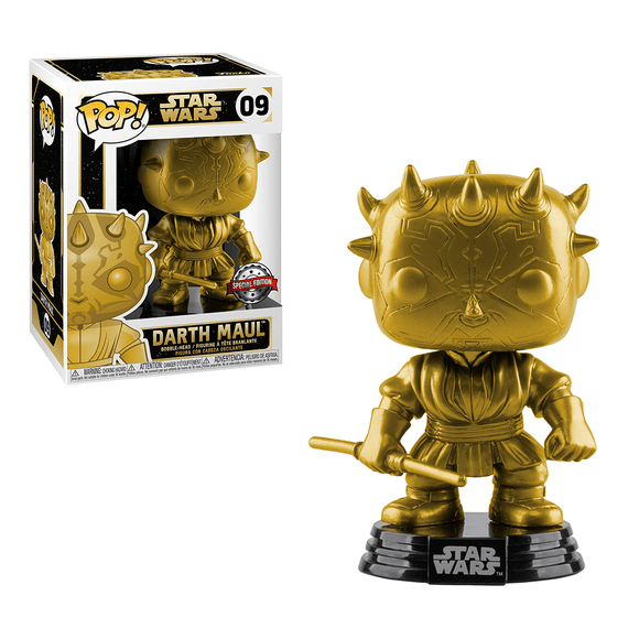 Funko POP! Star Wars: Darth Maul (Gold Metallic) - KOODOO