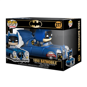 Funko Pop! Rides Batman 80th - 1950 Batmobile Metallic (Special Edition) - KOODOO