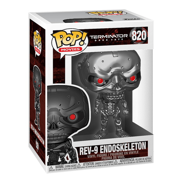 Funko Pop! Movies:Terminator Dark Fate-Rev-9 Endoskeleton - KOODOO