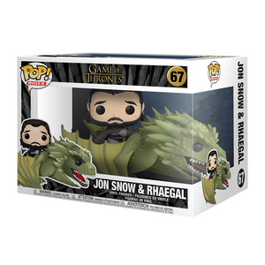 Funko Pop Rides: Game Of Thrones-Jon Snow And Rhaegal - KOODOO