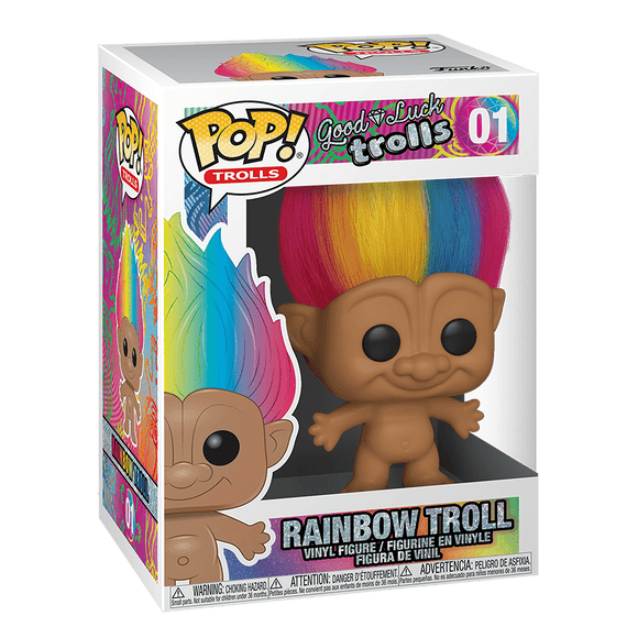 Funko Pop! Trolls:Good Luck Trolls-Rainbow Troll - KOODOO