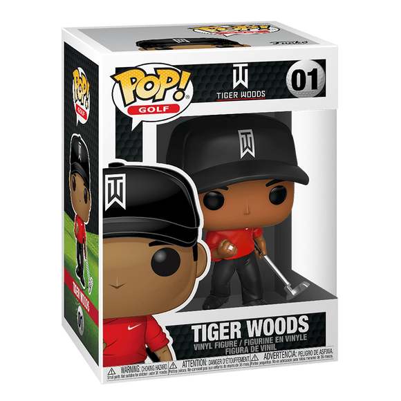 Funko Pop! Golf:Tiger Woods-Tiger Woods - KOODOO