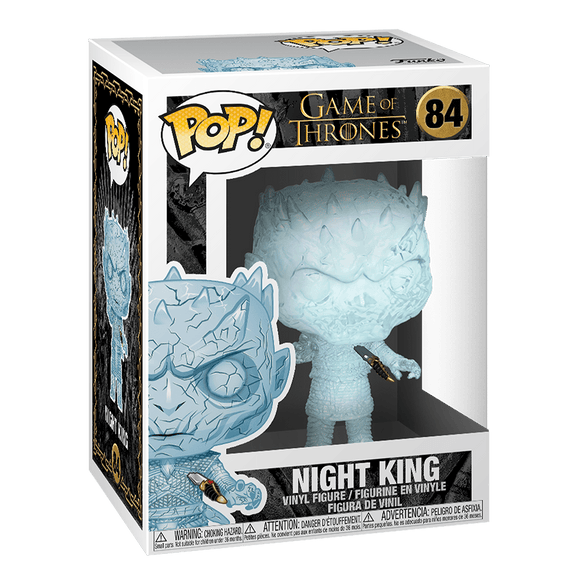 Funko Pop: Game Of Thrones-Night King With Dagger - KOODOO