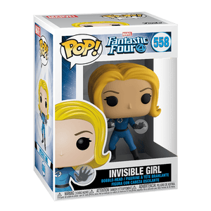 Funko Pop! Marvel:Fantastic Four-Invisible Girl - KOODOO