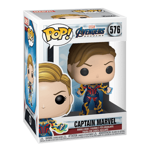 Funko Pop! Marvel:Avengers Endgame-Captain Marvel New Hair - KOODOO
