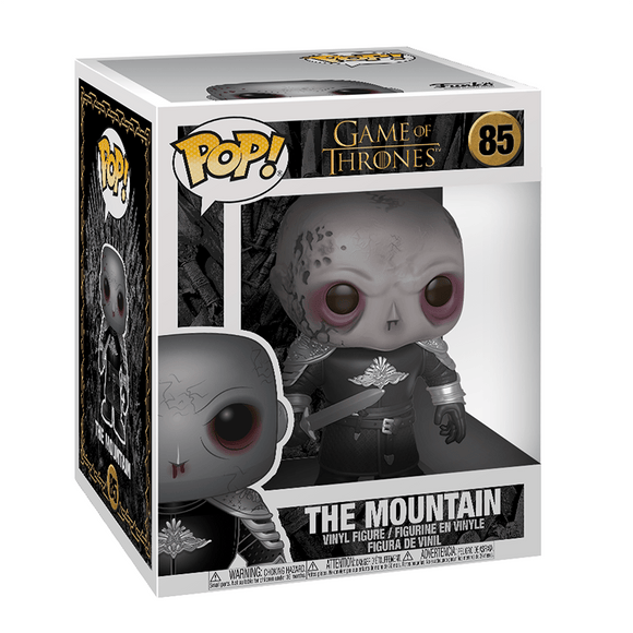 Funko Pop!:Game Of Thrones-The Mountain 6 Inch (Unmasked) - KOODOO