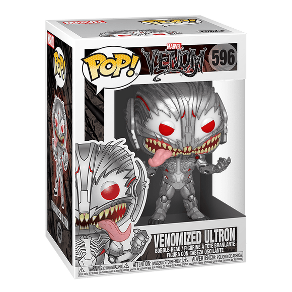 Funko Pop! Marvel: Spiderman Maximum Venom-Ultron - KOODOO