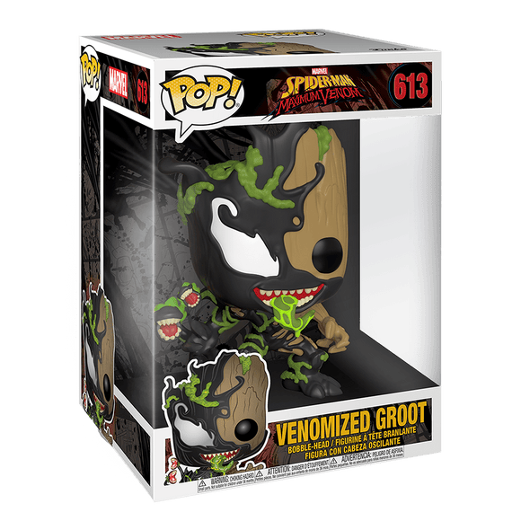 Funko Pop! Marvel - Max Venom - Venomized Baby Groot 10 inch - KOODOO