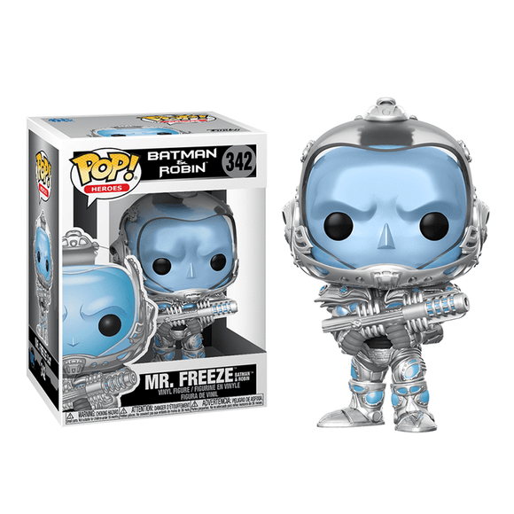 Funko POP! DC Heroes: Batman & Robin - Mr. Freeze - KOODOO