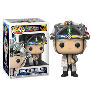 Funko Pop! Movies - Back to the Future - Doc With Helmet - KOODOO