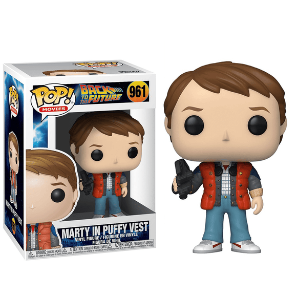 Funko Pop! Movies - Back to the Future - Marty In Puffy Vest - KOODOO