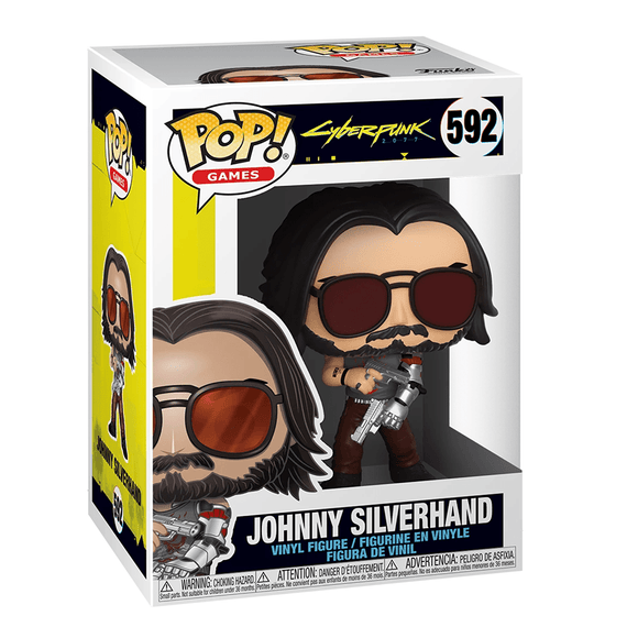 Funko Pop! Games - Cyberpunk 2077 - Johnny Silverhand 2 - KOODOO