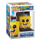 Funko Pop! Movies:The Spongebob Movie-Spongebob Squarepants With Gary - KOODOO