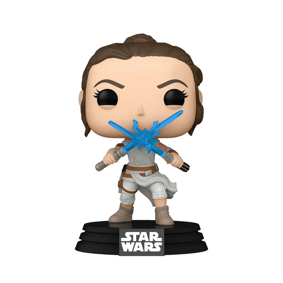 Funko Pop! Star Wars - Episode 9 - Rey With 2 Light Sabers - KOODOO