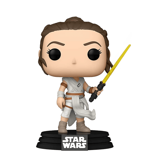 Funko Pop! Star Wars - Episode 9 - Rey With Yellow Saber - KOODOO