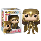 Funko Pop! Heroes - WW84-Wonder Woman Golden Armor - KOODOO