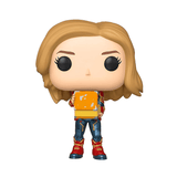 Funko Pop! Movies - Captain Marvel Holding Lunchbox
