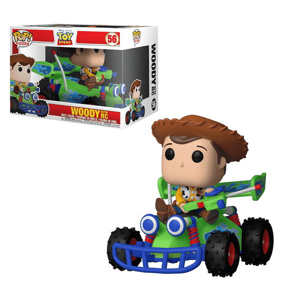 Funko Pop! Ride Disney:Toy Story-Woody With RC - KOODOO