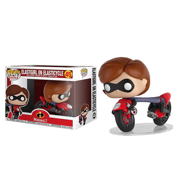 Funko Pop! Rides - Incredibles 2 - Elastigirl On Elasticycle - KOODOO
