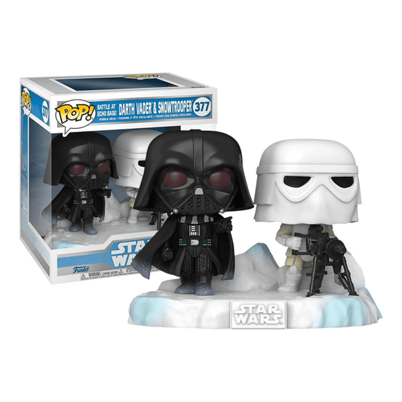 Funko Pop! Star Wars - Deluxe: Darth Vader & Snow Trooper - KOODOO