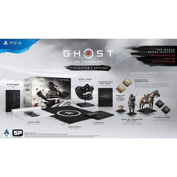 Ghost of Tsushima Collector's Edition (PS4) - KOODOO