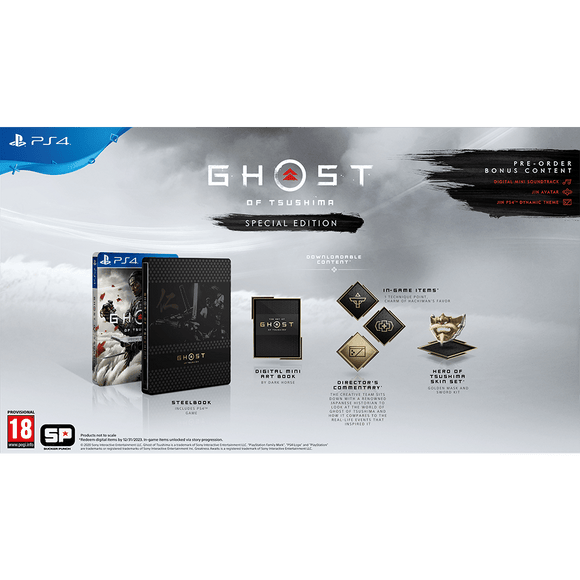 Ghost of Tsushima Special Edition (PS4) - KOODOO