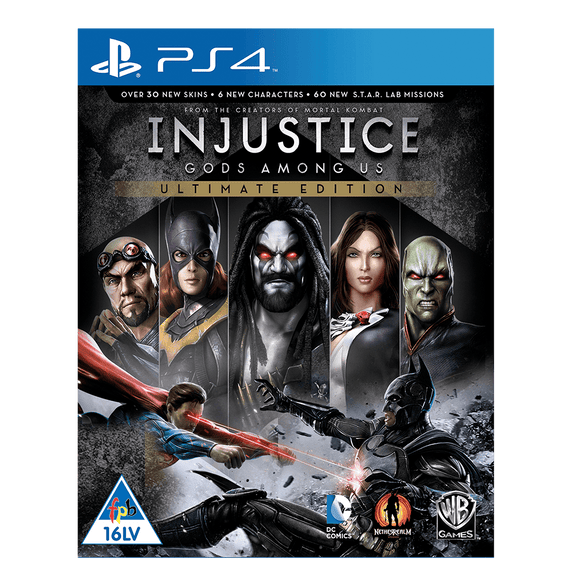 Injustice: GAU Ultimate Edition (PS4) - KOODOO