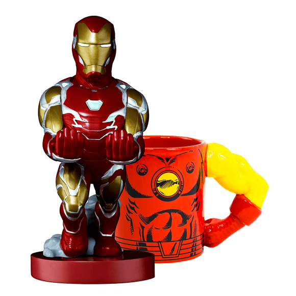 Iron Man Cable Guy + Mug - KOODOO