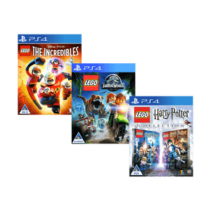 Lego Box Set - The Incredibles, Jurassic World, Harry Potter Y1-7 Collection (PS4) - KOODOO